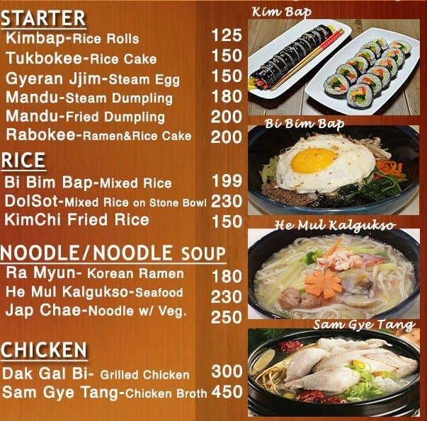 Korean Restaurant Delivery Quezon City