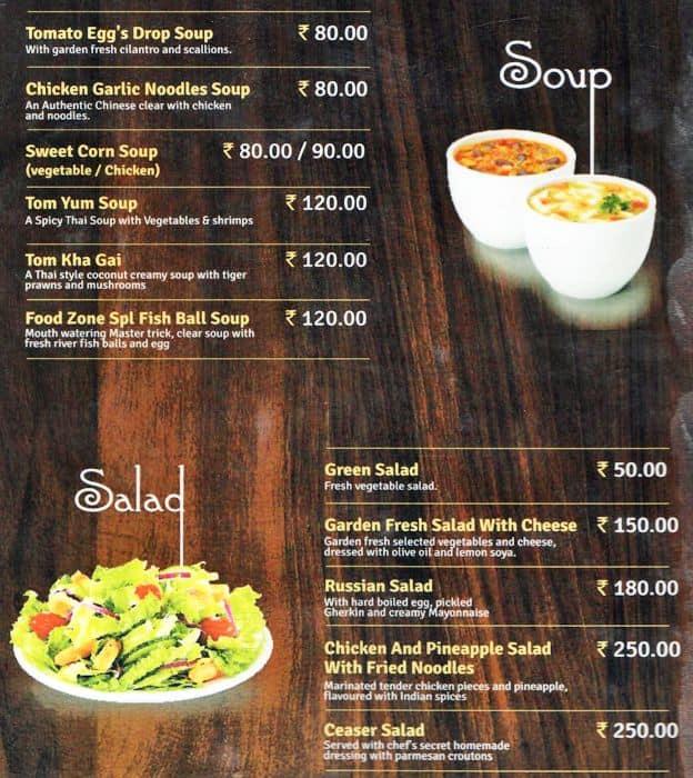 Huddersfield casino food menu