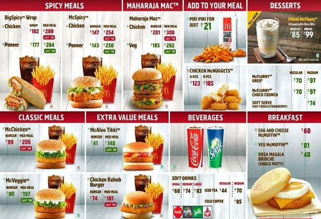 mcdonald s menu menu for mcdonald s pune solapur road pune zomato