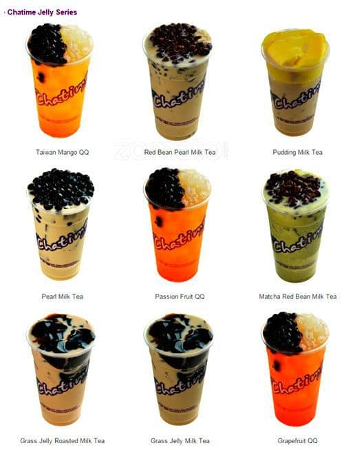 Chatime Drinks Without Milk