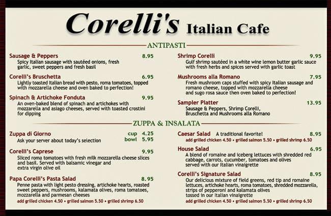 Corelli's Itali...