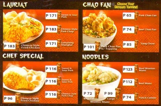 Chowking Menu Menu for Chowking Tagaytay City Tagaytay  : 3bc136fa99c9c00bc90232b428ef9e75 from www.zomato.com size 650 x 427 jpeg 85kB