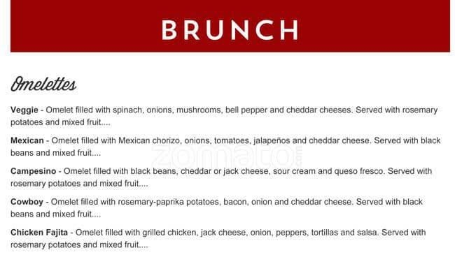Menu At Gloria S Latin Cuisine Restaurant Arlington Arlington