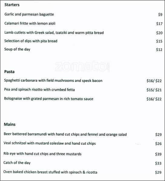 Jarrah Restaurant amp Bar Menu UrbanspoonZomato : c5d62162561015d37e2e420b246d7500 from www.zomato.com size 545 x 600 jpeg 38kB