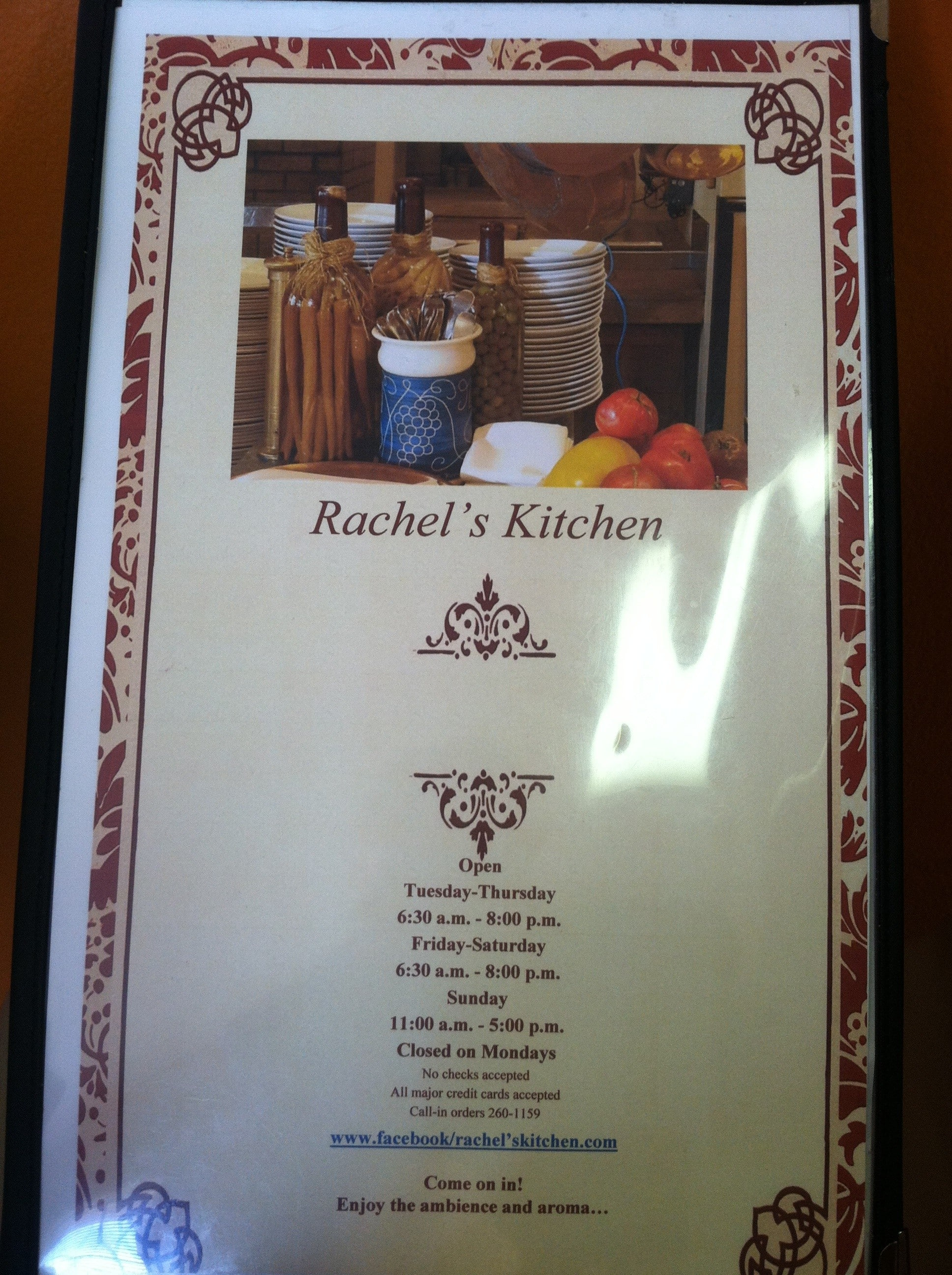 rachels kitchen wichita menu - Rachels Kitchen Menu