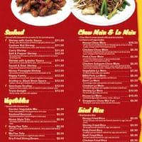 Mr Chen S Kitchen Menu
