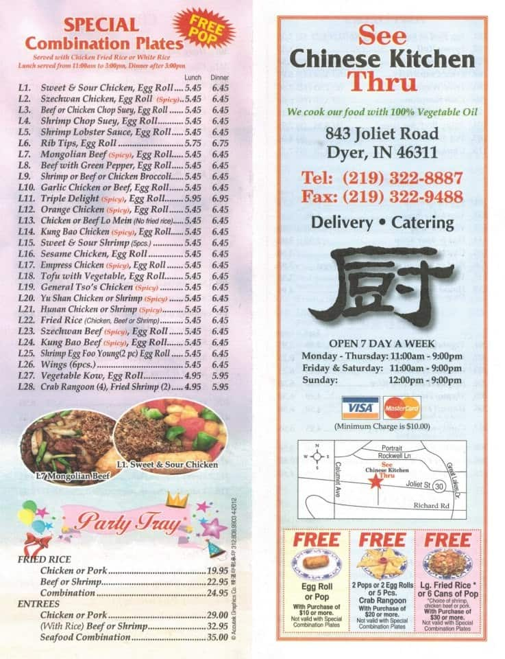 see thru chinese kitchen menu awesome design | nevadatoday