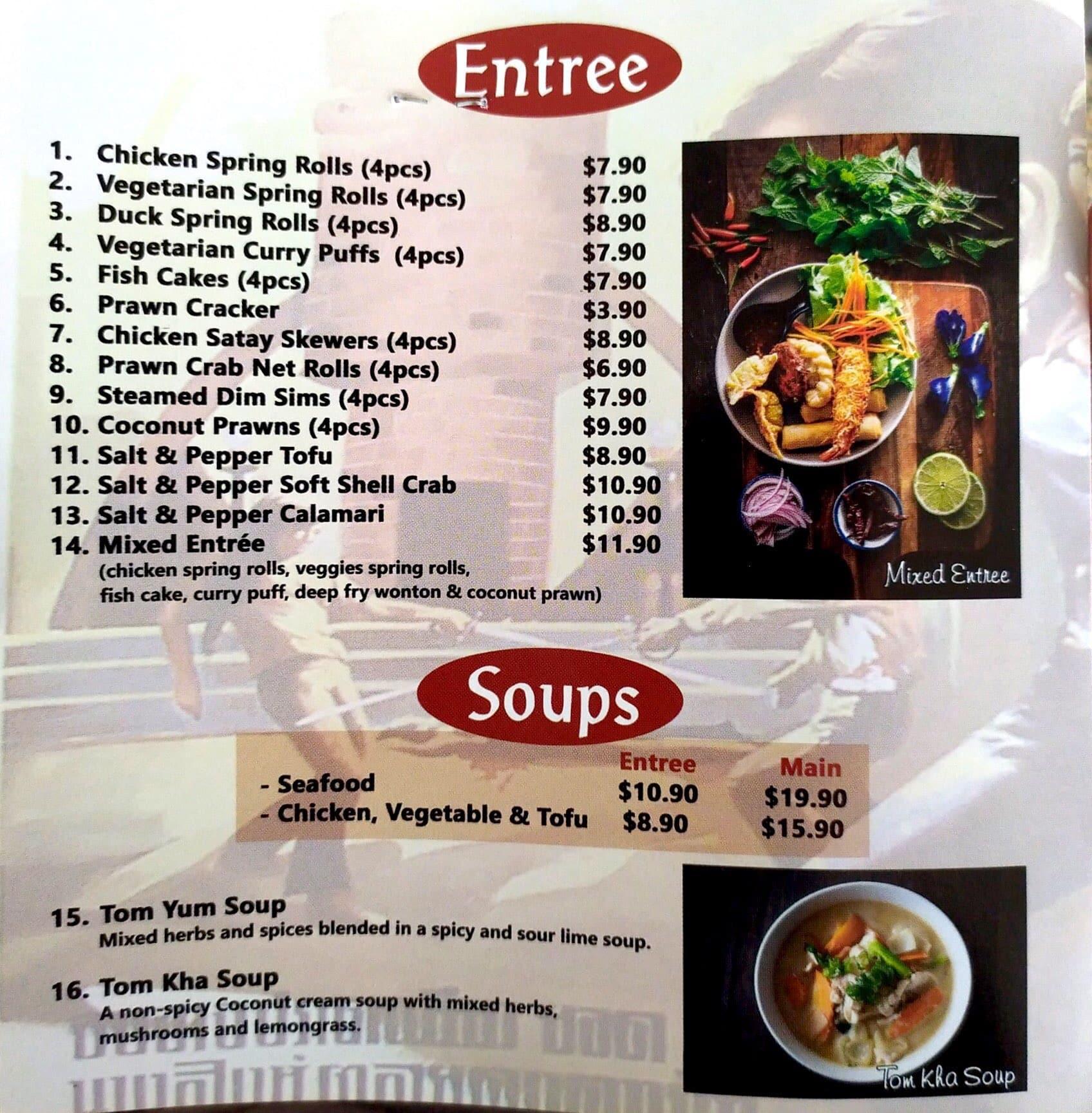 Chili Coco, Greenslopes, Brisbane का मेनू - Urbanspoon