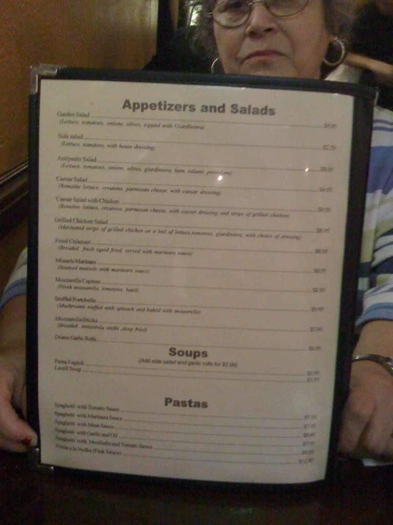 scanned menu for amici u0026 039 s trattoria italiana amici u0027s trattoria italiana kendall pinecrest miami   urbanspoon zomato  rh   zomato