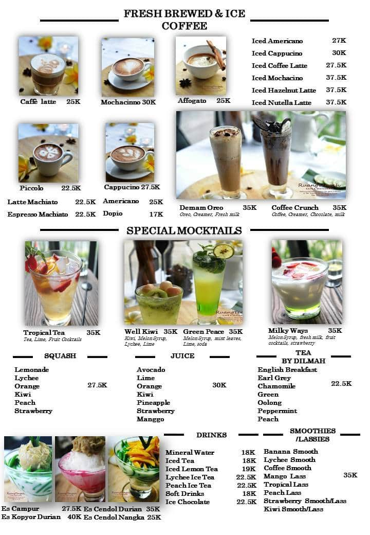 Ruang Tengah Cafe Resto Menu Zomato Indonesia