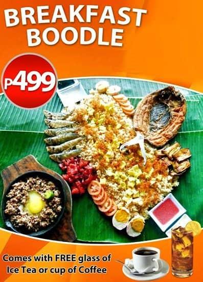Seafood Island Menu For Cebu Business Park
