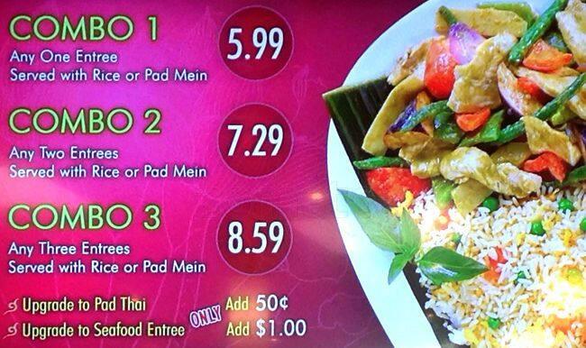 Thai Kitchen Food Court In Tacoma Mall