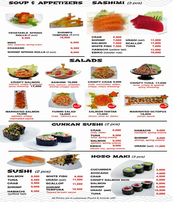 Sushi Station Menu Menu For Sushi Station Dekwaneh Metn The trend found popularity in japan in the 8th century, where it has. menu for sushi station dekwaneh metn