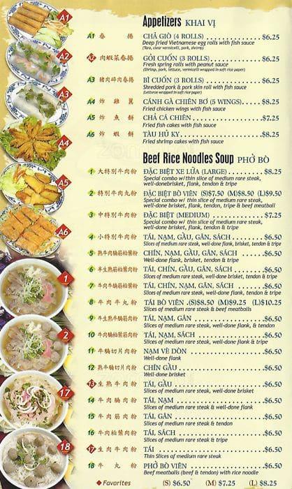 Kevin S Noodle House Menu Menu For Kevin S Noodle House Daly City Daly City