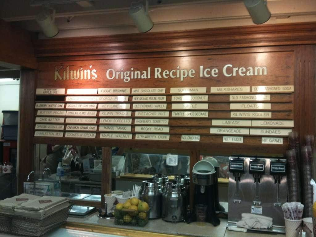 Kilwin's Chocolate & Ice Cream Menu - Urbanspoon/Zomato