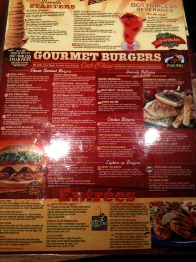 Browse our menu and order takeout online through OrderUp Tucson. Red Robin Gourmet Burgers takeout conbihaulase.cfon: N. Oracle Rd, Tucson, , AZ.