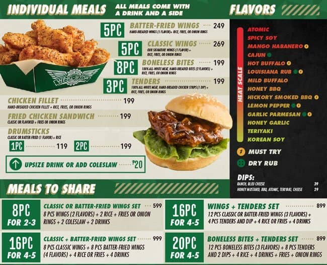 graphic about Wingstop Printable Menu known as Wingstop cafe - Sleeping bag with pillow