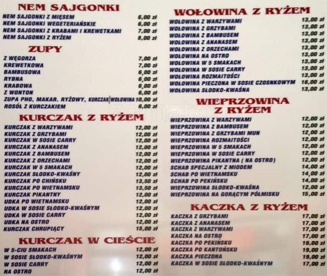 Kebab Kuchnia Orientalna Menu Menu For Kebab Kuchnia Orientalna Wola Warszawa