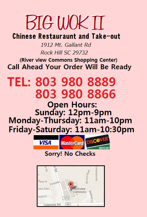 Chinese Delivery Food Rock Hill