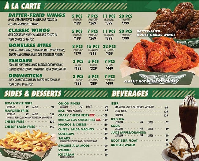Wingstop Menu Menu for Wingstop Bagong Pag Asa Quezon  : aeb7eebee06651c42931aa33ac18db9e from www.zomato.com size 650 x 525 jpeg 125kB