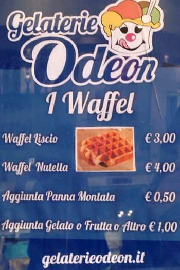 Gelateria Odeon a Milano: Foto del Menu con Prezzi - Zomato Italia