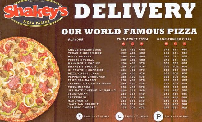 shakey s pizza swot