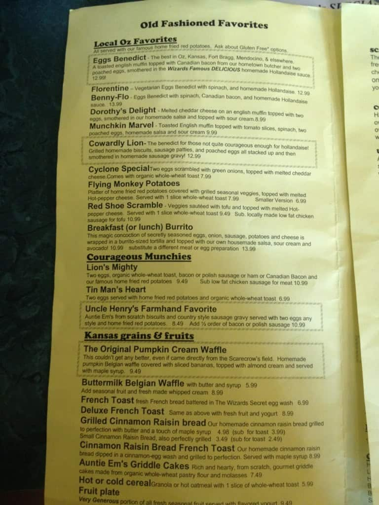 Eggheads Restaurant Menu Urbanspoonzomato