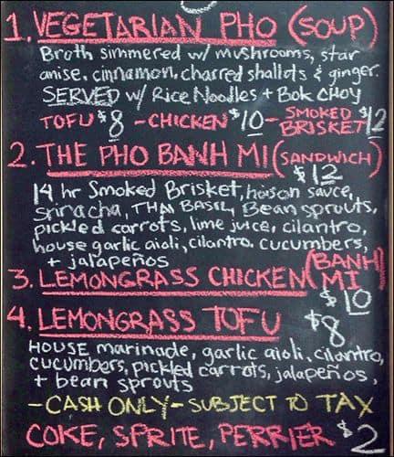 lucys vietnamese kitchen menu - Lucys Vietnamese Kitchen