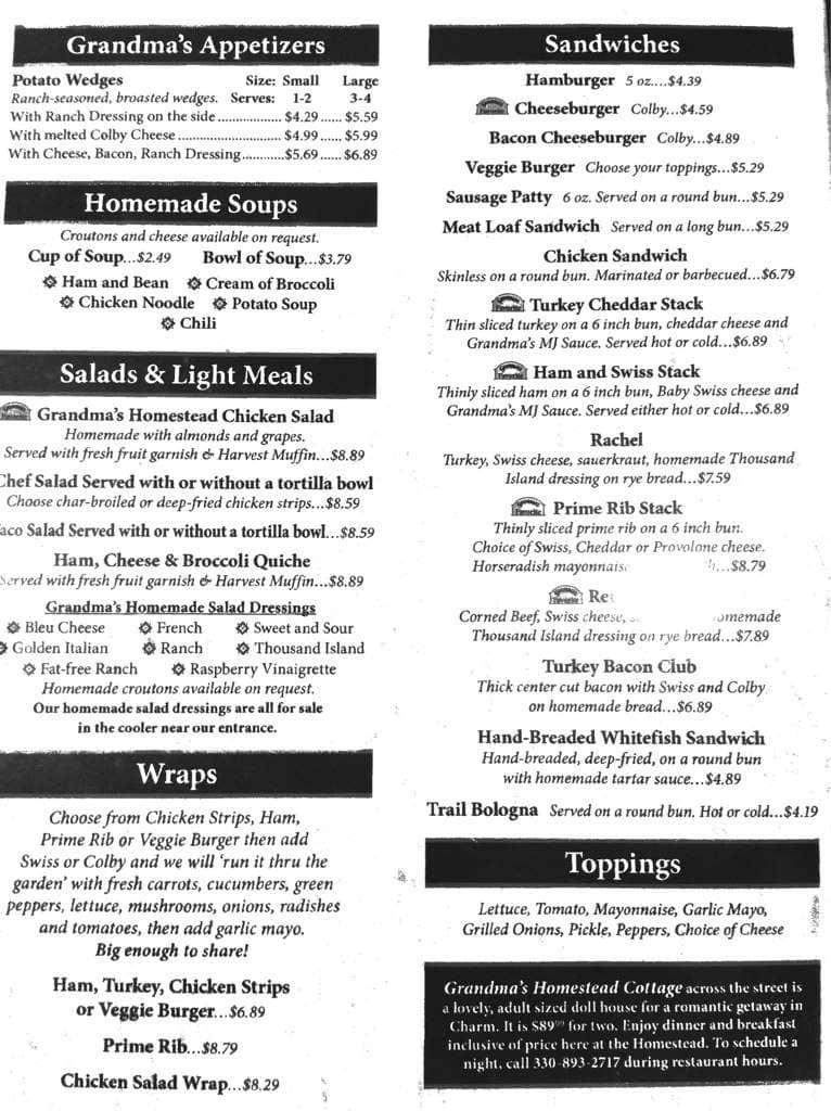 s homestead restaurant menu urbanspoon zomato