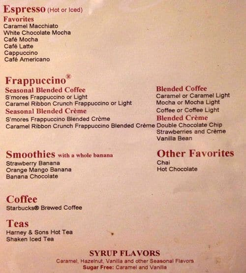 Barnes & Noble Cafe Menu, Menu for Barnes & Noble Cafe ...