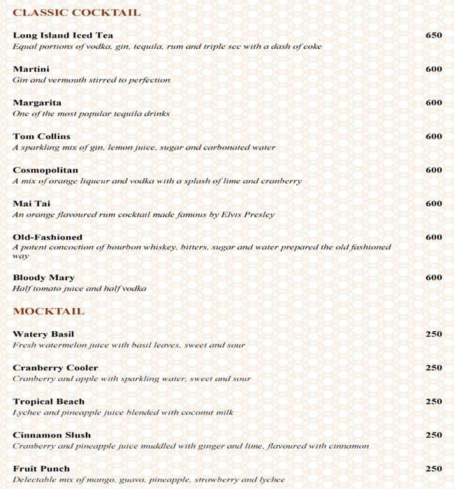 ministry of food hilton bangalore embassy golflinks menu zomato rh zomato com hilton buffet price kl hilton buffet price in sri lanka
