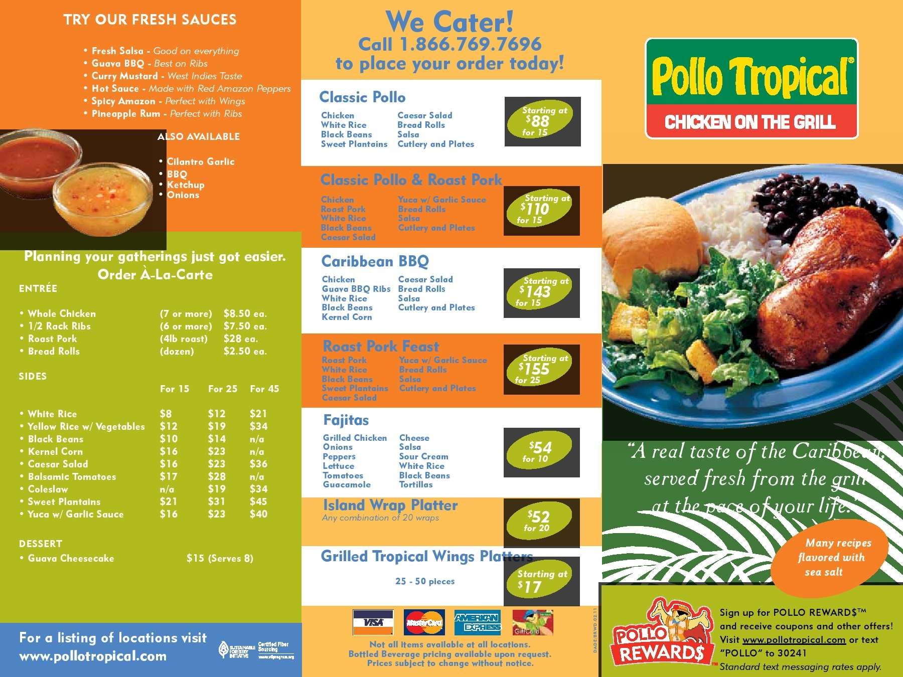What is Pollo Tropical?