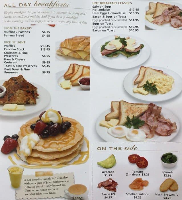 C Restaurant Perth Prices