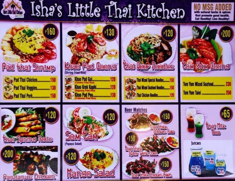 isha s little thai kitchen menu zomato philippines rh zomato com little thai kitchen menu chappaqua little thai kitchen menu flagstaff