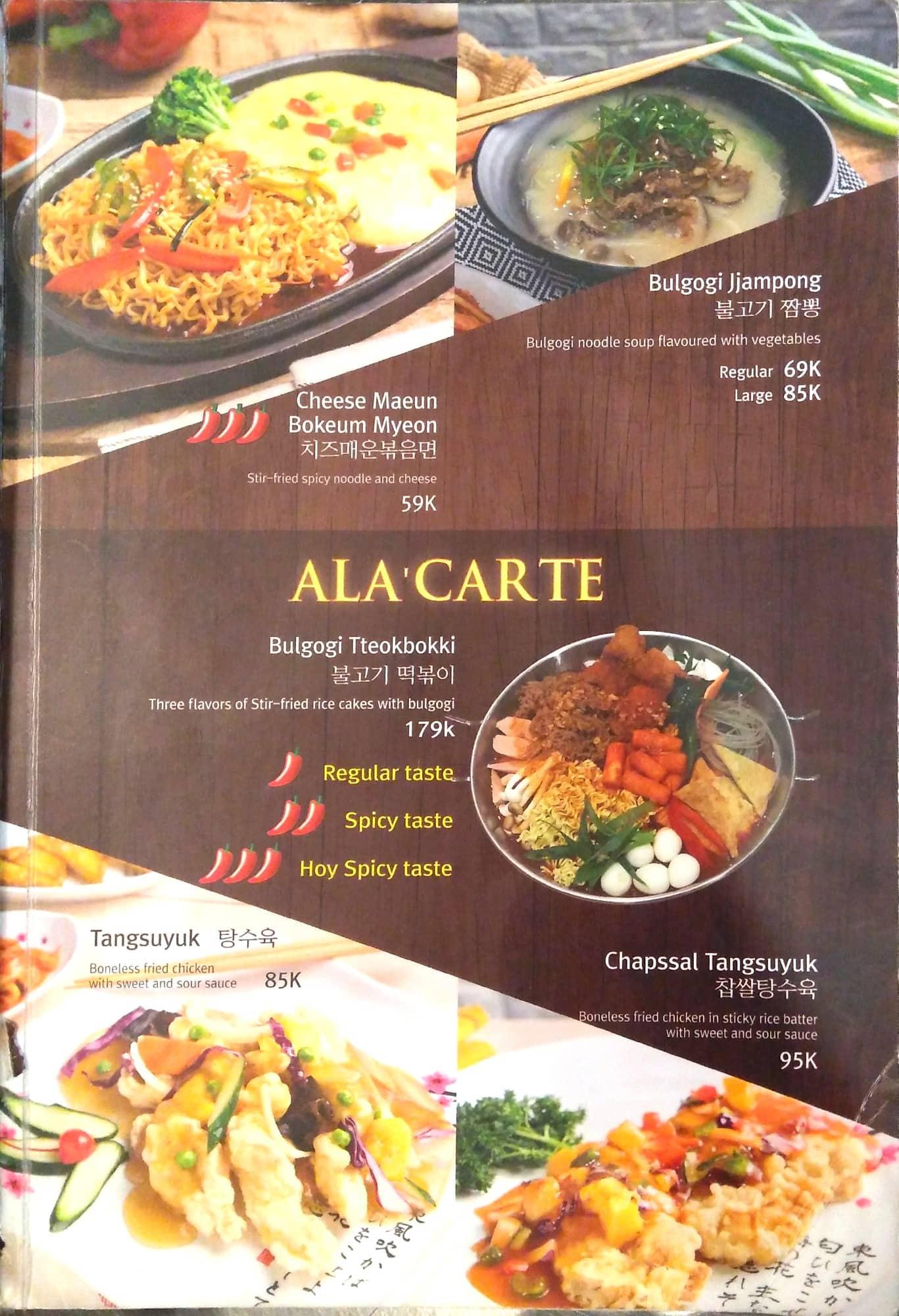 Menu Darin Master of Noodle Korean Food (saungkorea.com)