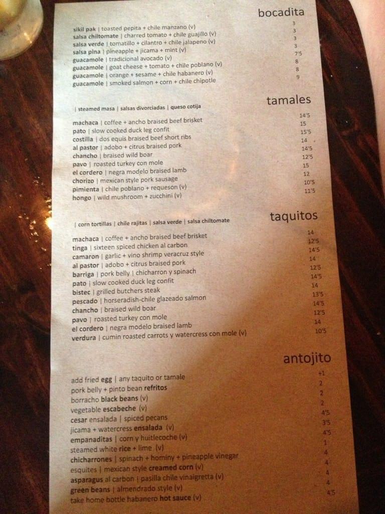 el carnicero menu menu for el carnicero lakewood cleveland el carnicero lakewood menu