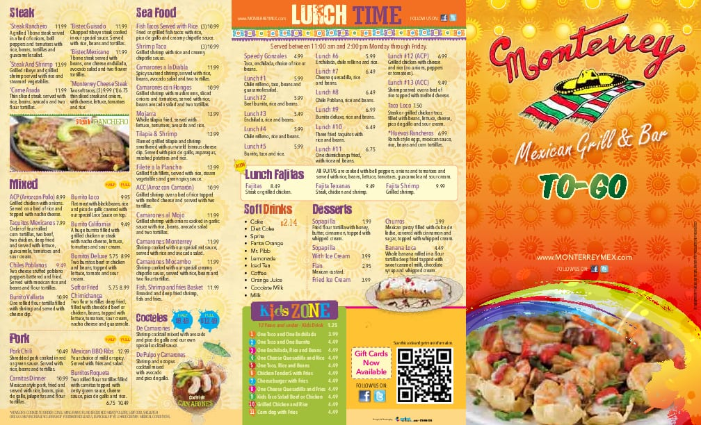 Thai Kitchen  Calorie Menu