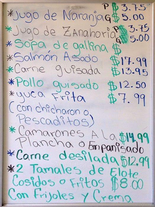 Los Olivos Restaurant Menu Menu For Los Olivos Restaurant