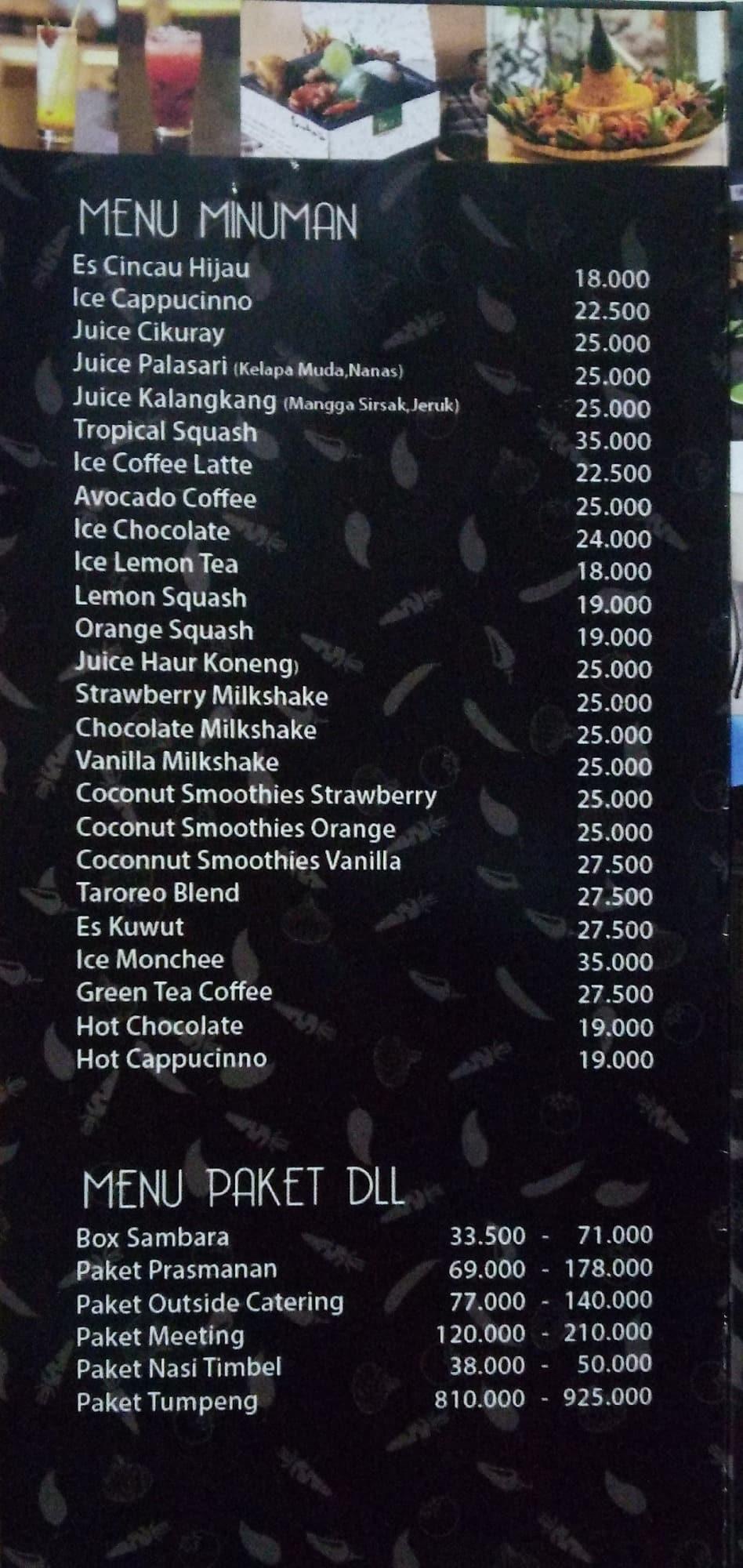 Restoran sambara cipete raya dating