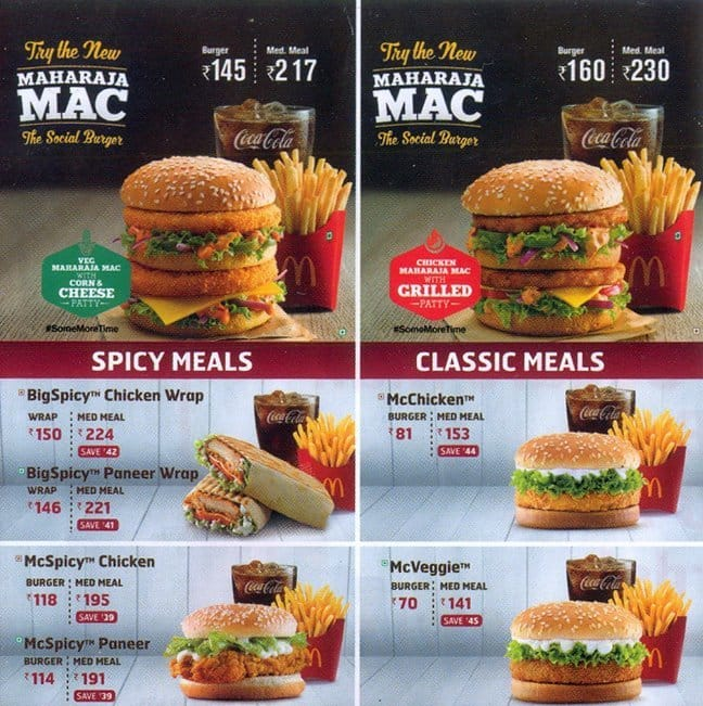 an analysis of mc donalds health menu We provide a nutrition analysis of our menu items to help you balance your  mcdonald's meal with other foods you eat our goal is to provide you with the.