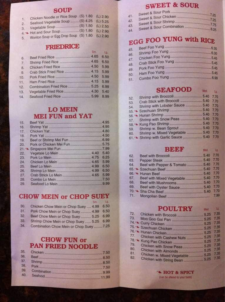 Full yum carry out menu menu for full yum carry out noma for Carryout menu
