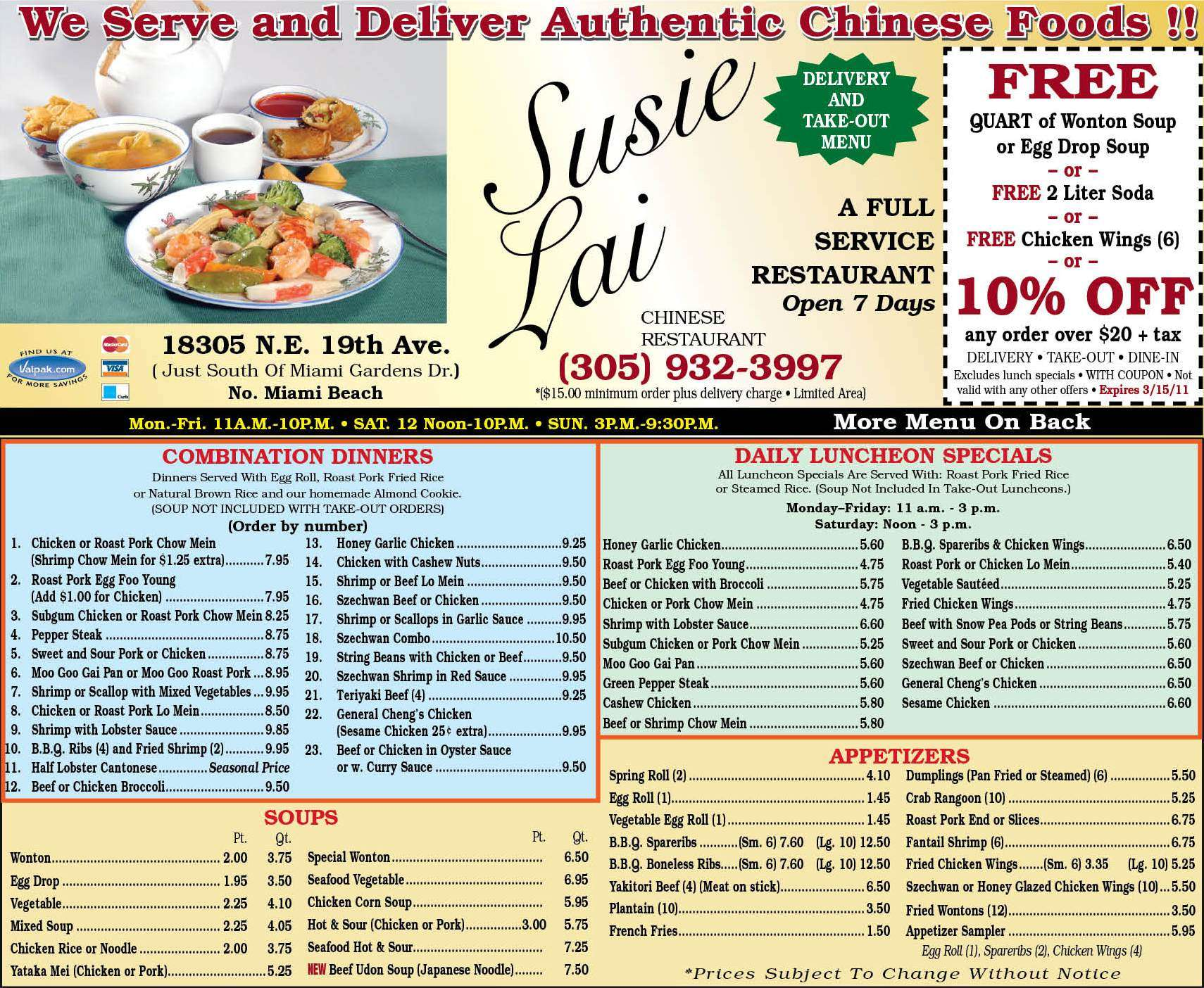 Chinese Delivery Food North Miami Beach