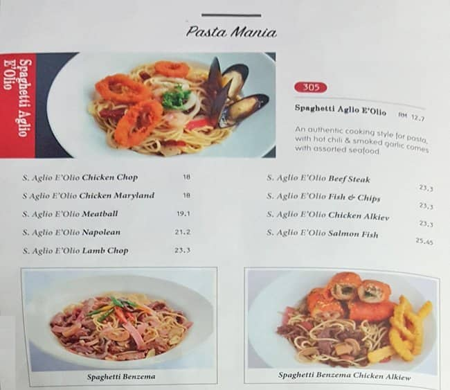 Food review murni discovery seksyen 7 shah alam for Amans indian cuisine menu