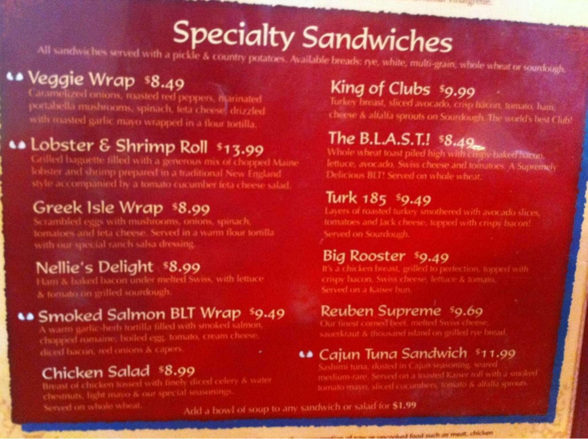 Another Broken Egg Cafe Menu With Prices