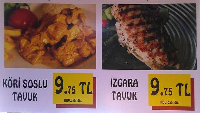 Yemek Dünyası Menü Yemek Dünyası Mecidiyeköy Merkez Istanbul Için