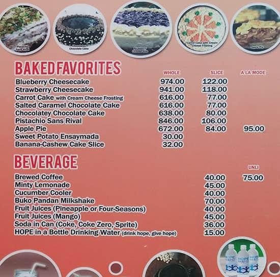 Menu At Bob Min S Kitchen Restaurant Tagaytay