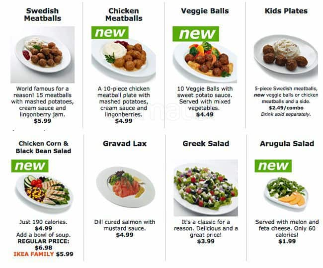 ikea restaurant bistro swedish food market menu