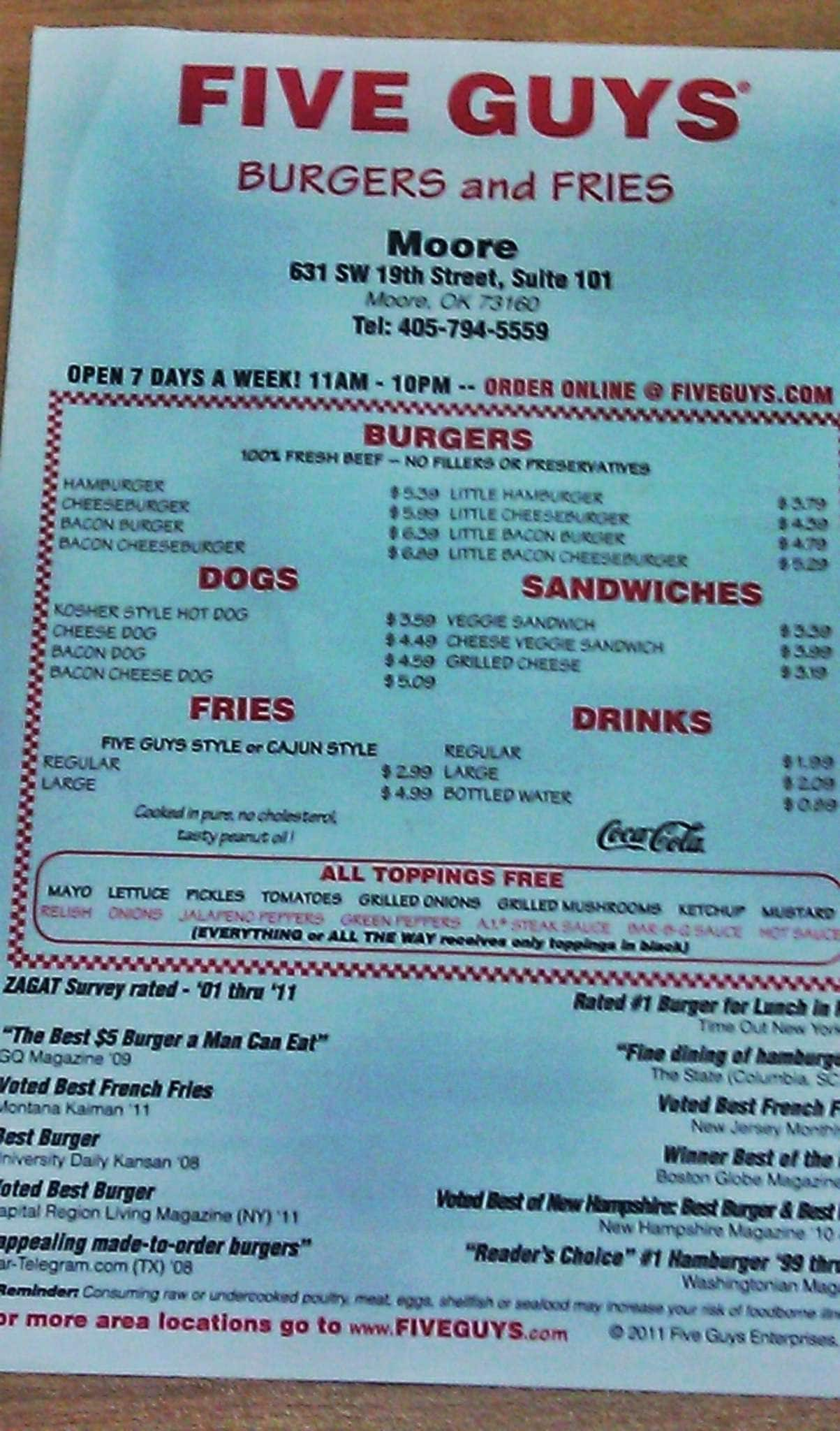 Five Guys Burgers And Fries Locations 26