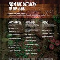 The Butcher Shop & Grill, Jumeirah Beach Residence (JBR