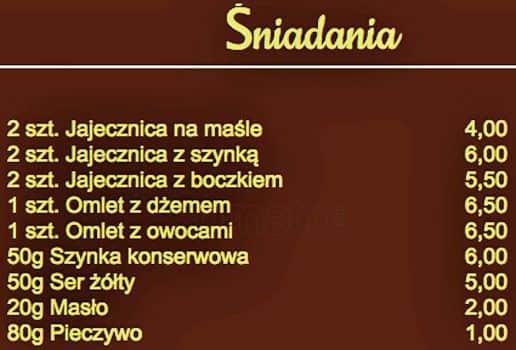 Restauracja Polonia Menu Menu Restauracji Restauracja Polonia